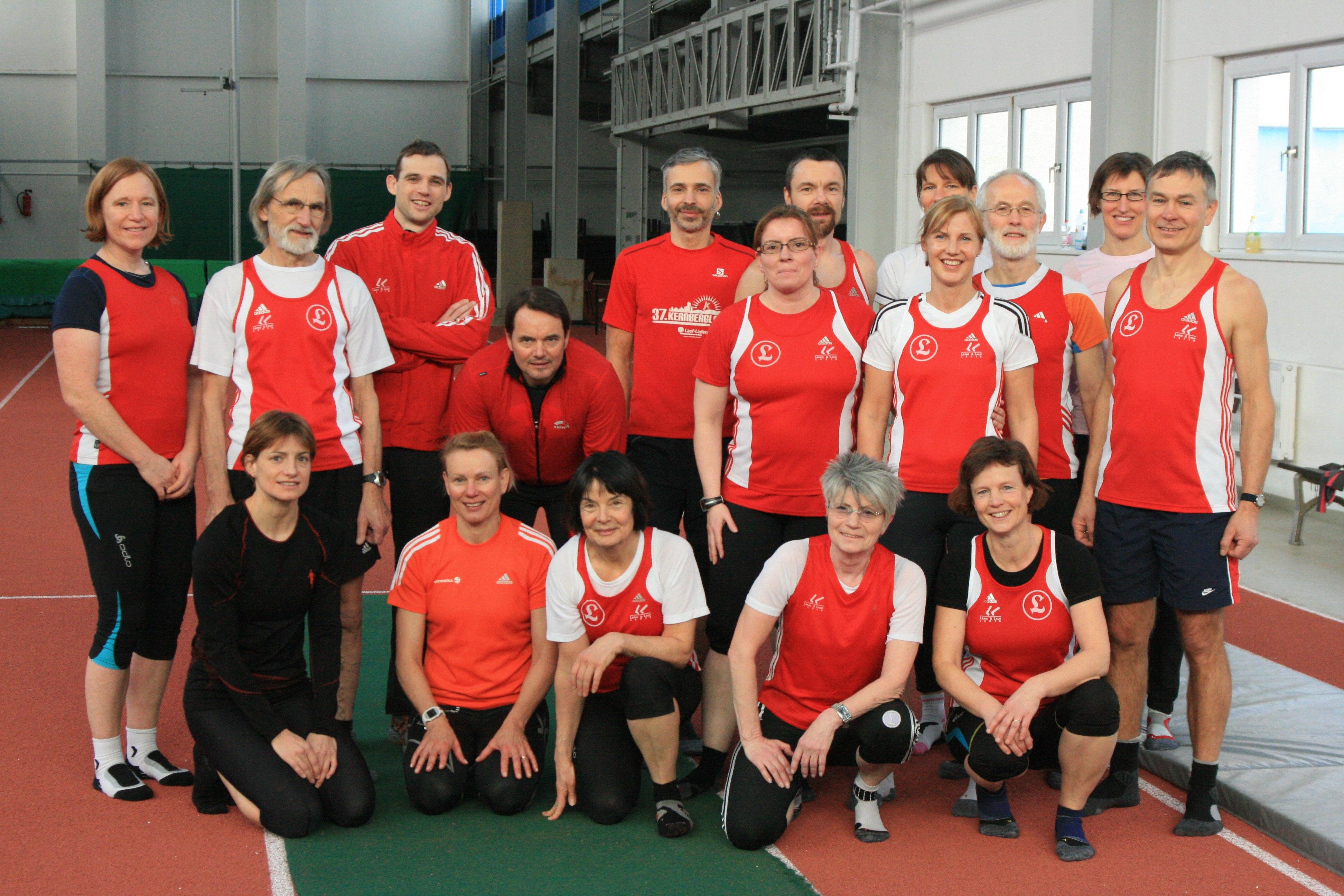 Trainingswochenende in Kienbaum Januar 2014