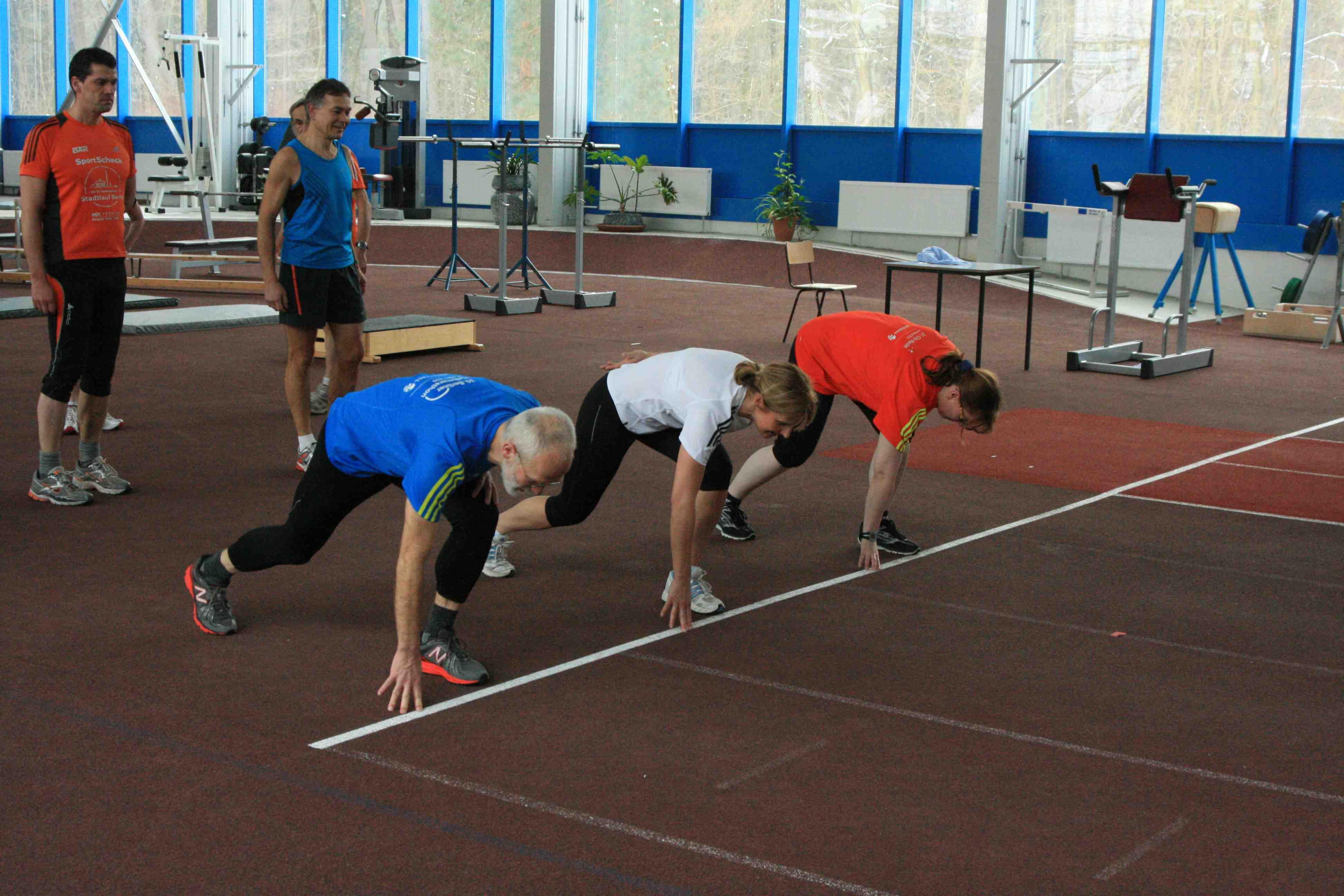 Training in Kienbaum Anfang 2013
