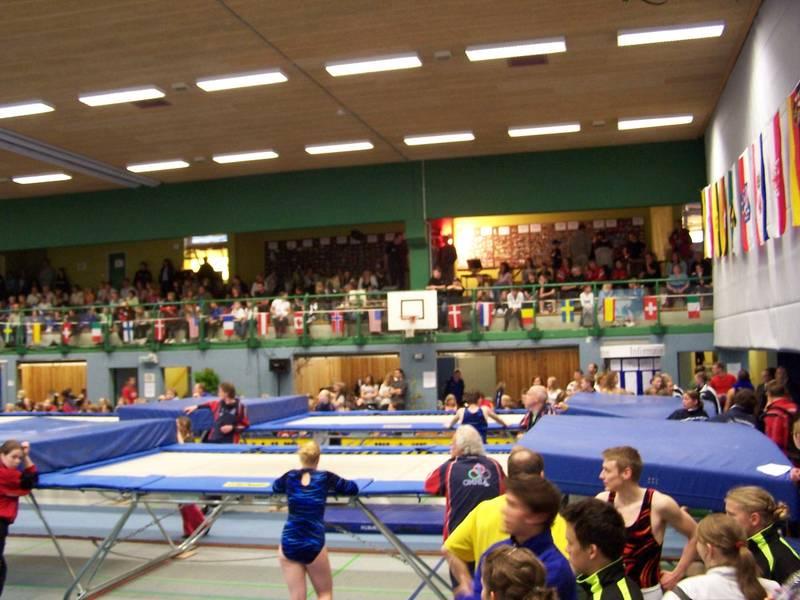Wettkampfhalle