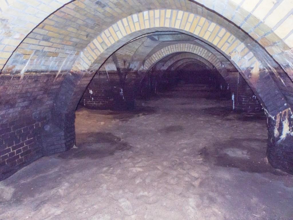 Unterirdische Filteranlage im alten Wasserwerk Friedrichshagen