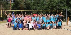 U20 vom VfL Lichtenrade beim 14. Dahlewitzer Frauen-Quadro-Beachturnier