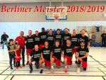 Basketballer sind Berliner Meister 2018/2019!