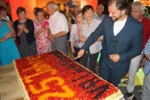 125-Jahre Kuchen