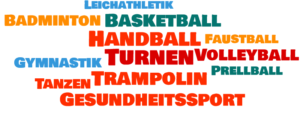 Abteilungen Wordcloud