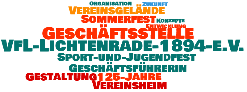 Geschaeftsstelle Wordcloud