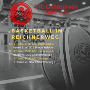 Basketball Herren Bezirksliga C  – VfL Lichtenrade vs. SCB Friedrichsfelde I @ Grundschule am Dielingsgrund | Berlin | Berlin | Deutschland