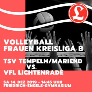 Volleyball Frauen Kreisliga B - TSV Tempelhof/Mariendorf V vs. VfL Lichtenrade @ Friedrich-Engels-Gymnasium | Berlin | Berlin | Deutschland