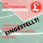 UPDATE! 30.04.2020 15:00 - Corona-Blog: Sport im VfL Lichtenrade