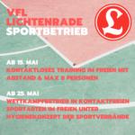 UPDATE! 22.05.2020 10:00 - Corona-Blog: Sport im VfL Lichtenrade