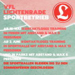 UPDATE! 25.06.2020 10:00 - Corona-Blog: Sport im VfL Lichtenrade