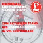 UPDATE! 30.08.2020 10:00 - Blog: Handballsport im VfL Lichtenrade