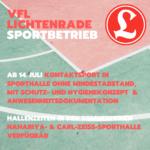 UPDATE! 22.07.2020 10:00 - Corona-Blog: Sport im VfL Lichtenrade
