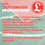 UPDATE! 13.07.2020 17:00 - Blog: Wiedereinstieg in den Sportbetrieb