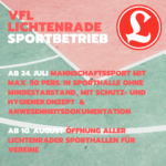 UPDATE! 11.09.2020 10:00 - Blog: Wiedereinstieg in den Sportbetrieb
